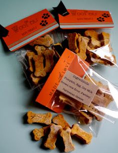 Homemade wheat free dog biscuits.