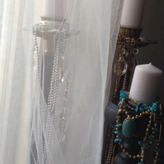 Antique Chandelliers with a twist