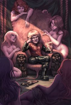 A very bad-ass Tyrion Lannister