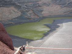 El Lago Verde - Lanzarote
