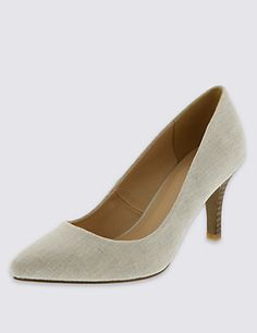 Pointed Toe Court Shoes with Insolia® | M&S