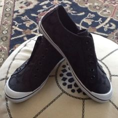 ❤Coach black sneakers new Cute coach sneakers, never worn Coach Shoes Sneakers