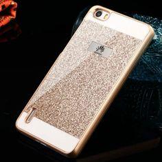 Für huawei p9 lite case glitter bling funkelnde case für huawei p9 lite Abdeckung Shinning P8 P8 lite P7 P9 P9lite Harte Rückseitige Abdeckung