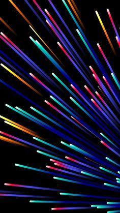 Iphone X Wallpaper Hd 1080p Black Abstract Wallpaper Rainbow