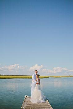 A Fun & Elegant North Carolina Yacht Club Wedding