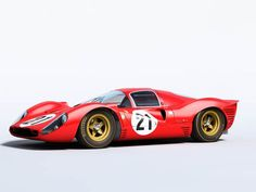 Sports Racing Cars - Ferrari 330 P4