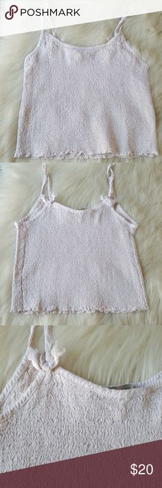 Brandy Melville Izzy Tank No flaws Never worn One Size best between XS-S Brandy Melville Tops Blouses