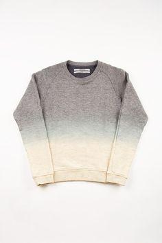 Dip-Dye Sweatshirt by Robert Geller