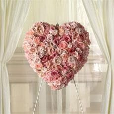 Wreath Heart of Roses