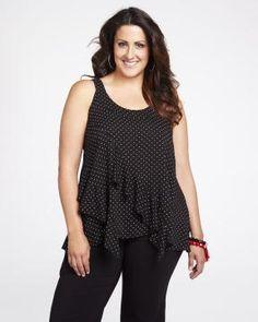 asymmetrical ruffle blouse  #AdditionElleOntheRoad Peplum, Ruffle Blouse, Addition Elle, Summer, Collection, Tops, Women, Style, Fashion