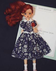 16 отметок «Нравится», 1 комментариев — @yuan.xiao.ge в Instagram: «#blythedress #licca #doll #dolldress #blythe»