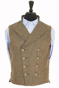 Gentleman's Regency Waistcoat (Glenshiel Tweed) SAMPLE SALE
