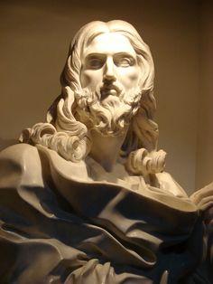 "Bernini's last sculpture _ Entitled ""Salvator mundi,"" this is the last piece of art Gian Lorenzo Bernini worked on."