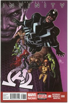 New Avengers #8 / 1st App Black Order / Thanos Marvel Infinity / Marvel Comics / Selling Now!!!