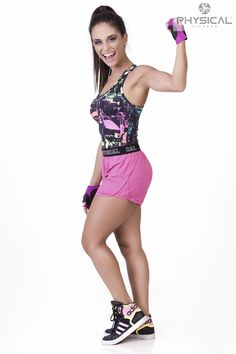 Regata estampada + Shortinho para correr, caminhar, ou simplesmente para ficar confortável, e à vontade.... www.physicalfitness.com.br  LOJISTAS whats(54)99633093 /daiane@physicalfitness.com.br (54)33588529  REVENDEDORA (54)97037875/comercial@physicalfitness.com.br  @PHYSICAL.FITNESS #physicalfitness #lookphysical #teamphysical #dicafitness #activewear #athleticwear #fit #fitgirls #fitnessstyle #gymwear #hardcoreladies #healthy #lifestyle #lookacademia #lookdetreino #lookfitness