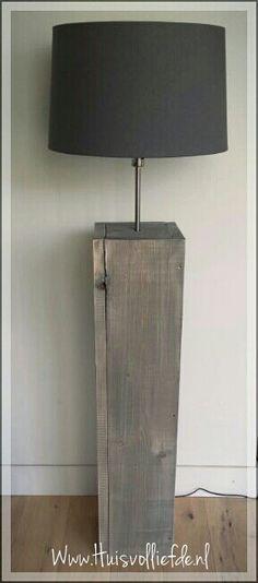 #Steigerhouten lamp