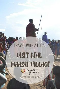 visit real maasai village in Tanzania with a local guide