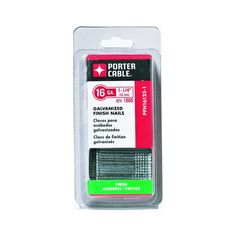 PORTER-CABLE PFN16200 2-Inch 16-Gauge Galvanized Finish Nails, 2500-Pack -- Continue to the product at the image link.