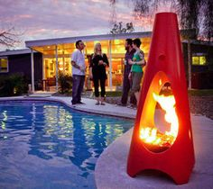 Modfire Uses Green Technology To Make Fireplaces Eco-Friendly via @HuffPost Home