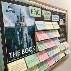 So…yeah…it's been nearly four months since I changed out the bulletin board, but last week I visited the giant color printer at Media Services and you can follow along a video field tri…