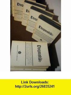 Die kirchliche Dogmatik (I/1, I/2, II/1, II/2, III/1, III/2, III/3, III/4, IV/1, IV/2, IV/3-1,IV/3-2 Karl BARTH ,   ,  , ASIN: B000WCOB9M , tutorials , pdf , ebook , torrent , downloads , rapidshare , filesonic , hotfile , megaupload , fileserve