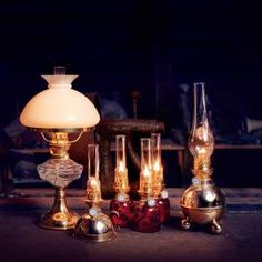Nattlampan is a traditional paraffin lamp from late with a modern vintage that has become to be a very appreciated decorative lighting in modern homes. Copper Table, Brass Table Lamps, Kerosene Lamp, Night Lamps, Old Antiques, Oil Lamps, Lamp Design, Polished Brass, Light Decorations