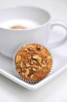 Gluten Free/ Grain Free, Peanut Butter Banana Muffins
