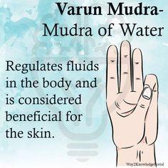 Varun Mudra Mudra of Water Regulates fluids in the body, beneficial for the skin Chakra Meditation, Kundalini Yoga, Pranayama, Qi Gong, Reiki, Yoga Mantras, Yoga Quotes, Quotes Quotes, Meditation Exercises