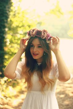 What Olivia Did | Flower Crown