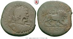 RITTER Kilikien, Tarsos, Caracalla, Löwe #coins