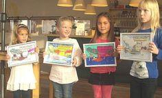 Winnaars kleurplaatwedstrijd Werfweekend