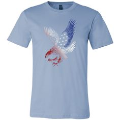 American Eagle - T-Shirt Available in two styles, designed and printed in the…