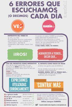 6 errores en español