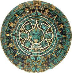 Aztec Calendar Disc