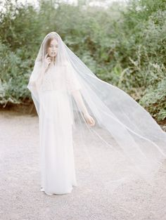 Heavenly bridal veils