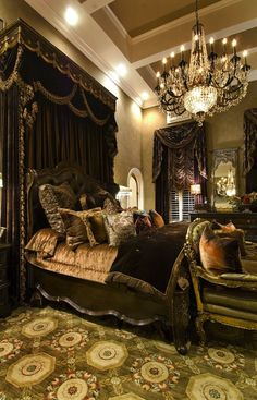 Old World Bedroom | Dormitorio | Pinterest | Bedrooms, Valance and ...