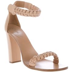 Chloe Braided sandal found on Polyvore...just kidding. Sold out!
