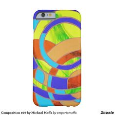 Composition #27 by Michael Moffa Barely There iPhone 6 Case