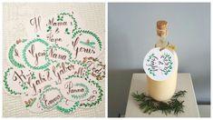 Christmas - Decoration nametag Xmas golden miracle Name Tags, Christmas Decorations, Xmas, Create, Blog, Name Labels, Christmas, Navidad, Blogging