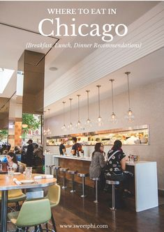 Where to eat in Chicago {breakfast, lunch, and dinner recommendations} - Sweetphi Old Town Chicago, Places In Chicago, Chicago Restaurants, Chicago Vacation, Chicago Travel, Chicago Trip, Lunch Places, Dinner Places, Best Lunch Chicago