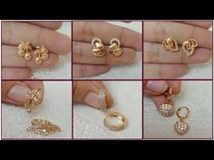 Here in this video, I have showcased Simple light Weight Gold Earring Design Collection. Gold Earrings For Kids, Gold Bracelet For Women, Gold Bridal Earrings, Gold Jewelry Simple, Simple Earrings, Gold Stud Earrings, Kids Earrings, Beautiful Earrings, Gold Ring Designs