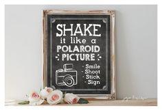 INSTANT 'Shake it like a polaroid picture' Printable by JoJoMiMi