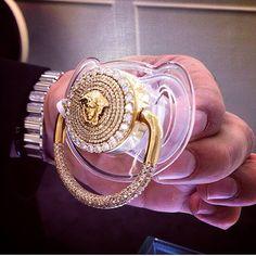 Fancy baby #Versace