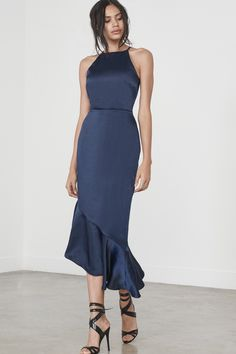 6049453fd170b Gorgeous S/S17 Lavish Alice navy blue style dress Lavish Alice, Winter  Bridesmaids,