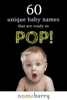 A unique baby name is now the no. 1 must-have accessory for style-savvy parents. These highly unusual names are white-hot on Nameberry right now, and we can see why. Click to see all 60 stylish choices for boys and girls, from Azami to Yadira.