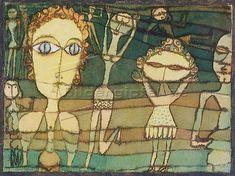 Paul Klee: Auf der Wiese.1923