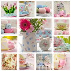 Spring inspiration from Mary Jane's Tearoom blog