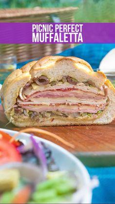 Muffuletta Sandwich, Cooking Recipes, Healthy Recipes, Healthy Food, Afternoon Tea Recipes, How To Eat Better, Diy Food, Food Ideas, Picnic Foods