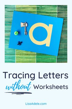 Your 2 or 3 year old doesn't need to trace alphabet worksheets to learn letters at home! Tracing Montessori sandpaper letters is a great option to learn the alphabet. Also get ideas for fine motor activities to help the pencil grasp and prepare your child for writing letters in Kindergarten. ABC Activities Preschool Letter Tracing WITHOUT Alphabet Worksheets | Learning to Write Letters Preschool with Montessori Language Materials | Alphabet Tracing Preschool Toddlers | Tracing Letters… Writing Activities For Preschoolers, Preschool Activities At Home, Preschool Writing, Pre K Activities, Letter Activities, Learning Activities, Writing Letters, Pre Writing, Learning Letters