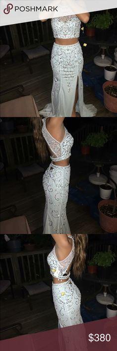 Prom Dress Light blue woman's prom dress, never worn , from Estelles, tags still on. SLANE Dresses Prom